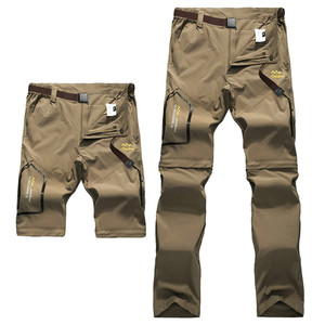 Image 5 - Full Removable Camping Hiking Pants Stretch Quick Dry Waterproof Trousers Outdoor Man Mountain Climbing/Fishing/Trekking Pants