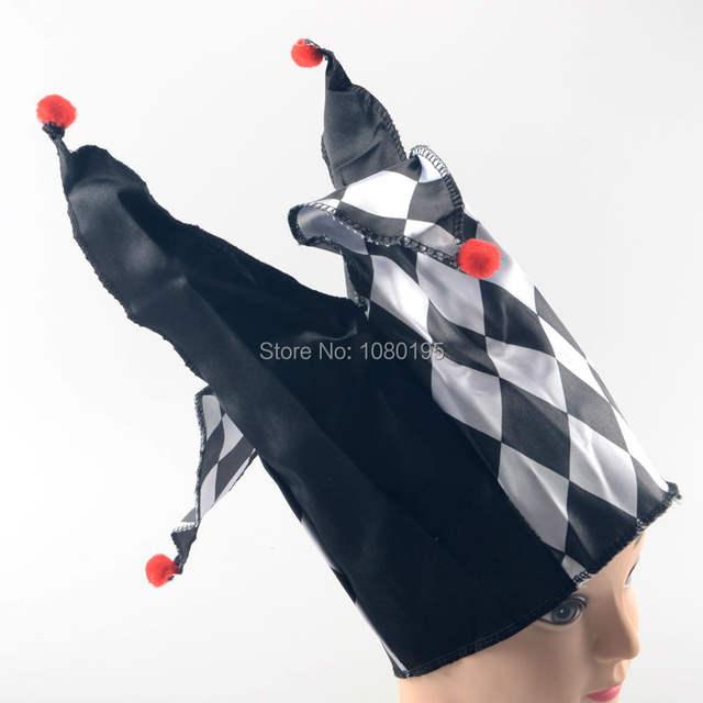 Men's Carnival Black Clown Costume