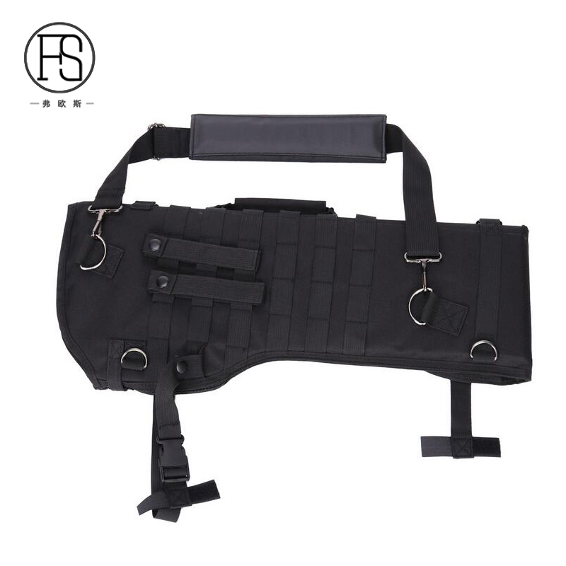 Outdoor Hunting Rifle Folding Shoulder Bag Airsoft Shooting Rifle Protection Carry Holster 600D Oxford Fabric