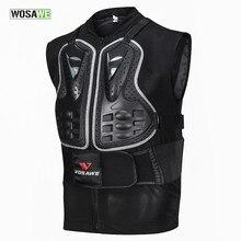 WOSAWE мотоциклетный бронежилет для мотокросса по бездорожью, защита груди, защита для велоспорта, лыжного тела, защитные куртки для катания на коньках и сноуборде