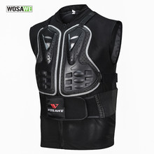 WOSAWE Motorcycle Armor Vest Motocross Off-Road Racing Chest Protector Cycling Ski Body Protective Skating Snowboarding Jackets(China)