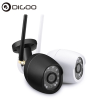 Digoo DG W01f IP Camera CCTV Cloud Storage 720P Waterproof WIFI Security IR Distance Motion Detection