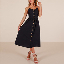 Sexy V Neck Solid Party Dress Women Spaghetti Strap Backless Slim Maxi Summer Chiffon Long Beach Vestidos