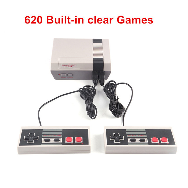 HST-838 Handheld Game Players Family TV Video Game Console Childhood Built-in 620 Games N/P Mini 8 bit Game Console