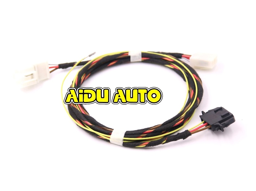 FOR VW Rear 220V armrest box Charger socket Install harness Wire Cable-in Cables, Adapters & Sockets from Automobiles & Motorcycles    1