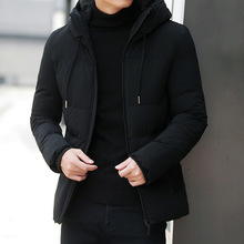 2018 Fashion Winter Jacket Men's Warm Coat Jacket mens Parkas Jackets Men's coat Zipper Stand collar jacket men Size 4XL