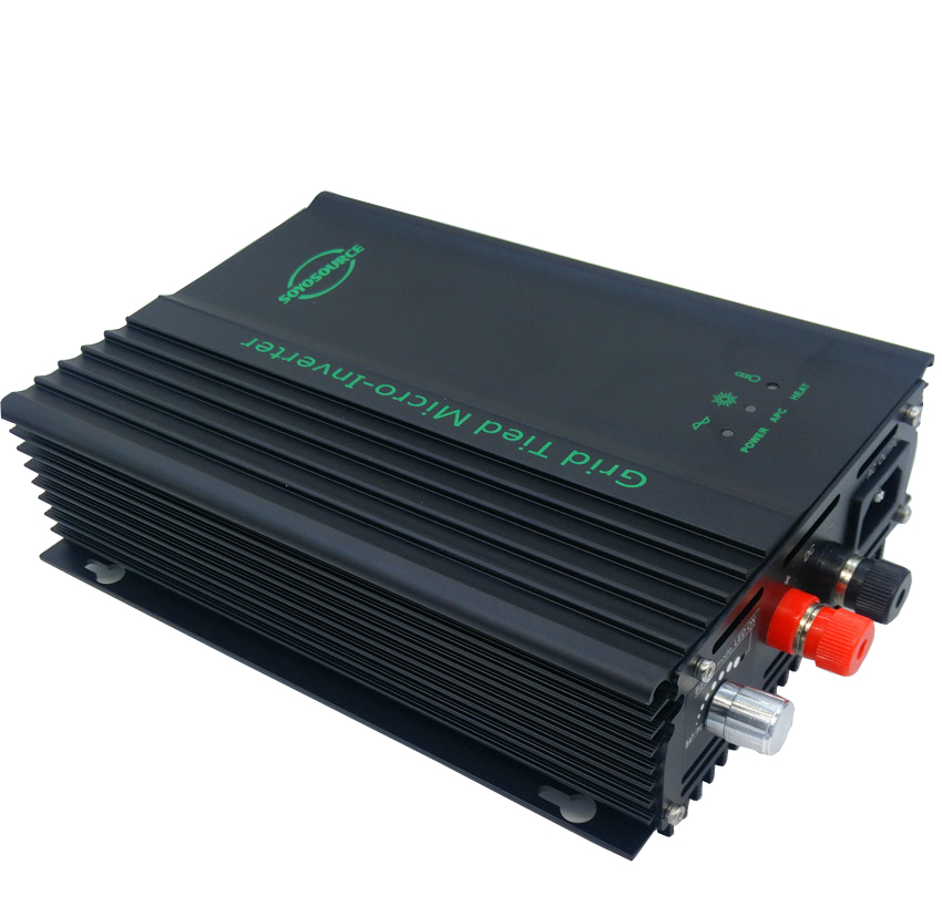600w Grid tie inverter dc to ac DC-input 26v-45v 24V Battery discharge Battery energy recovery For 24v Battery Adjustable Power solar power on grid tie mini 300w inverter with mppt funciton dc 10 8 30v input to ac output no extra shipping fee