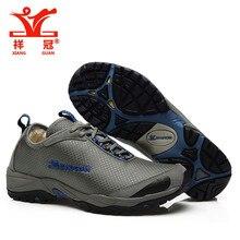 XiangGuan winter warm man woman sneakers Outdoor trekking boots waterproof boots brand men hiking shoes mountain climbing shoes
