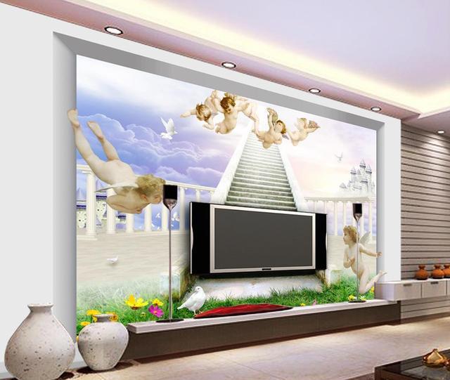 Angel wallpaper mural Custom photo wallpaper Large 3D Stereo