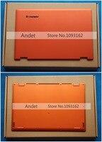 Yeni Orijinal Lenovo Ideapad Yoga 2 Pro 13 Baz Kapak alt Alt Kasa LCD Arka Arka Kapak Kapak AM0S9000200 AM0S9000300 turuncu