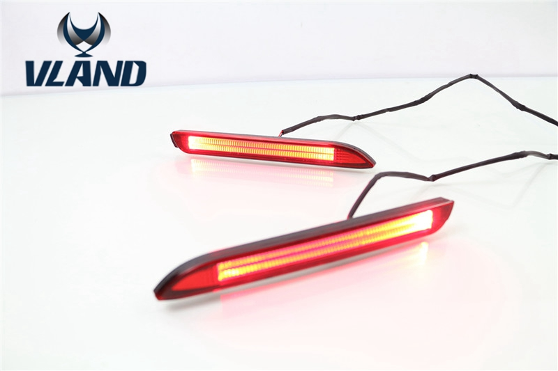 Free shipping For Toyota Camry Reiz LED Tail led bar Rear Bumper Light warning light motorcycle tail tidy fender eliminator registration license plate holder bracket led light for ducati panigale 899 free shipping