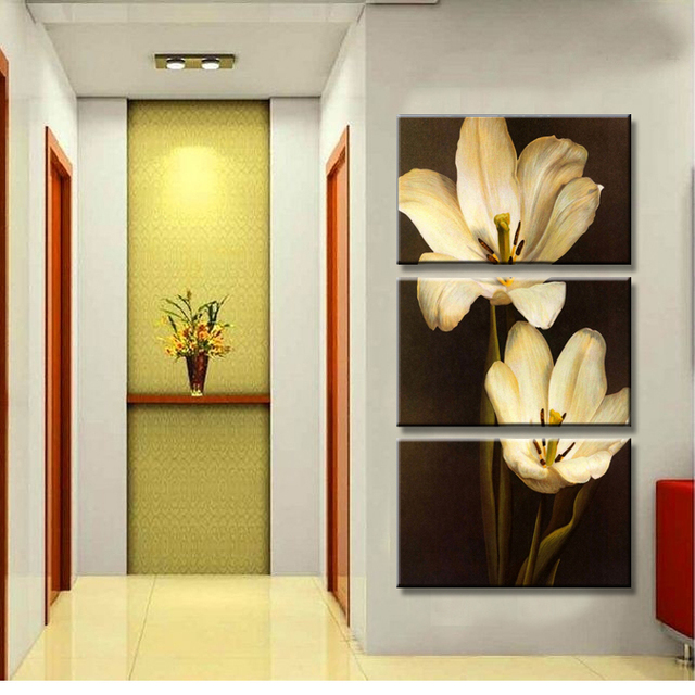 Free Shipping 3 Piece Wall Art Canvas Painting Wall Painting Modern ...