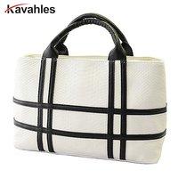 2015 New Black And White Hit Color Shoulder Bag Big Bag Pu Leather Crocodile Pattern Square