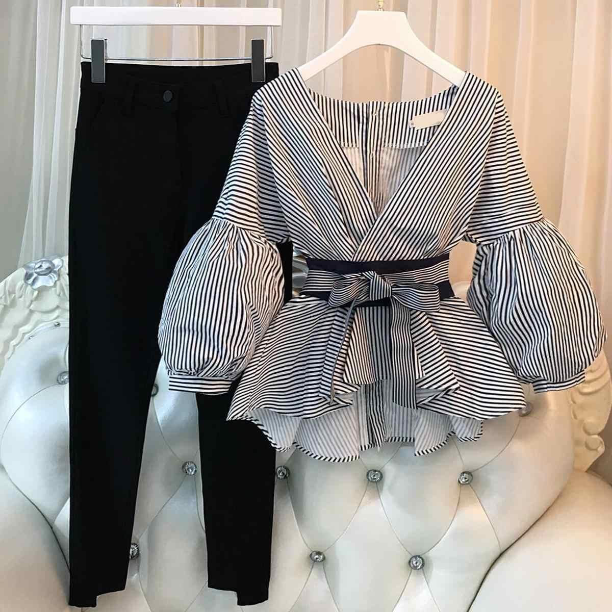 الأبوين وراثيا البريق Conjuntos Pantalon Y Blusa Elegantes Cmaptv Org