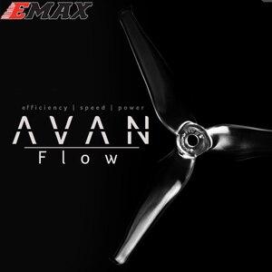 Image 1 - 20 pièces EMAX AVAN Flow 5x4.3x3mm 5 pouces 3 pales accessoires dhélice 5CW 5CCW pour Drone RC (10 paires)