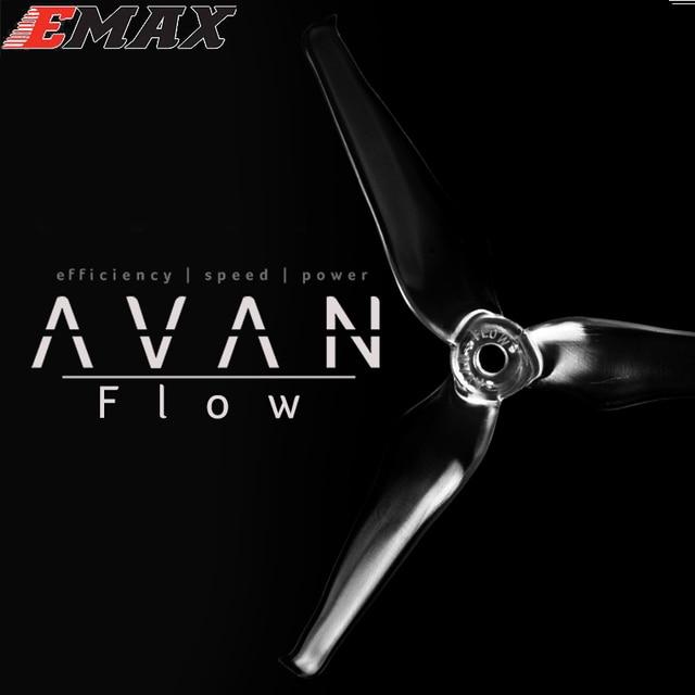 20 pièces EMAX AVAN Flow 5x4.3x3mm 5 pouces 3 pales accessoires dhélice 5CW 5CCW pour Drone RC (10 paires)
