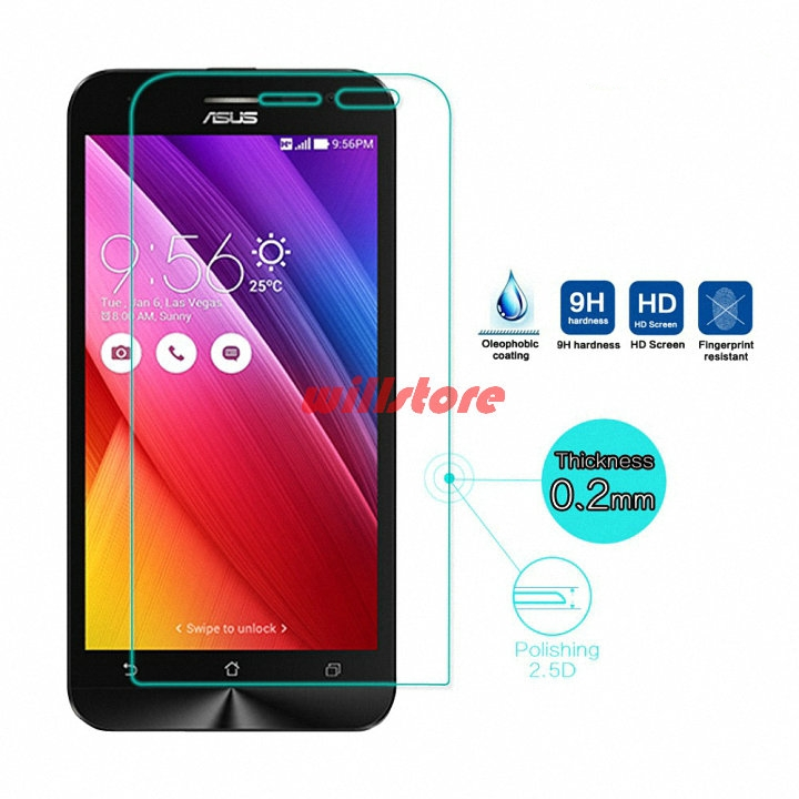 Protector de pantalla de vidrio templado para ASUS Zenfone Selfie ZD551KL 2 Laser ZE550KL ZE500KL ZE551ML / Max ZC550KL / GO ZC500TG 5