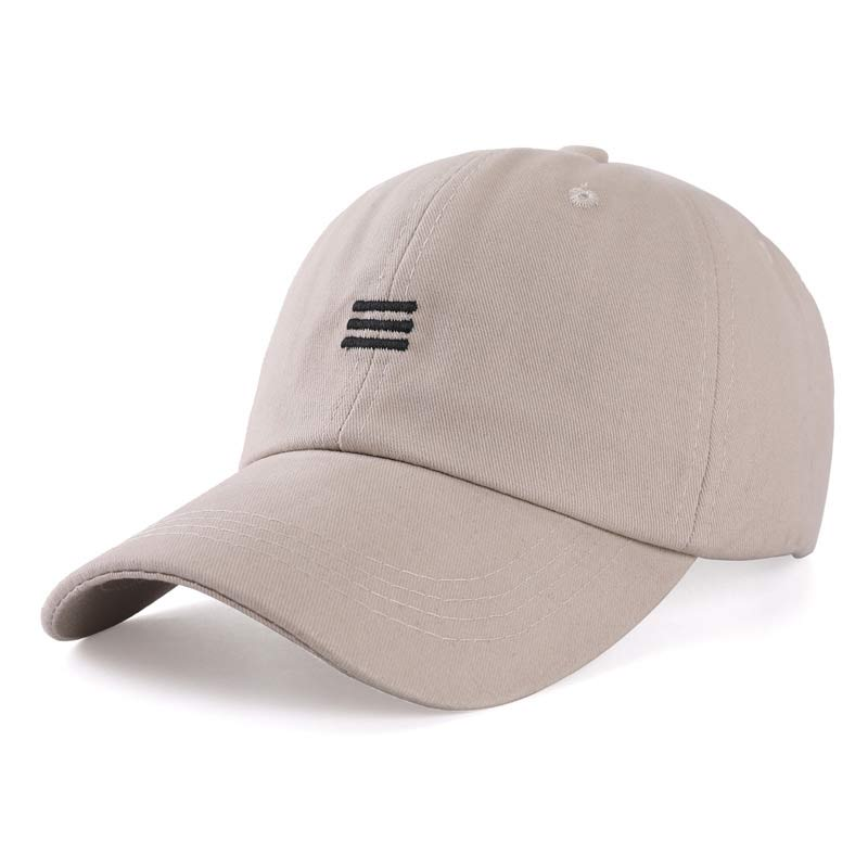 Cotton   Baseball     Cap   Fashion Teenager   Cap   Men Casual Summer Hat Khaki White Black
