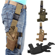 Tactical Army Drop Leg Thigh Holster Gun Elite Police Swat Puttee Holster