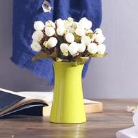 Mini Vase Ceramic Desktop Decoration Artificial Flower Small Vase Small Fresh