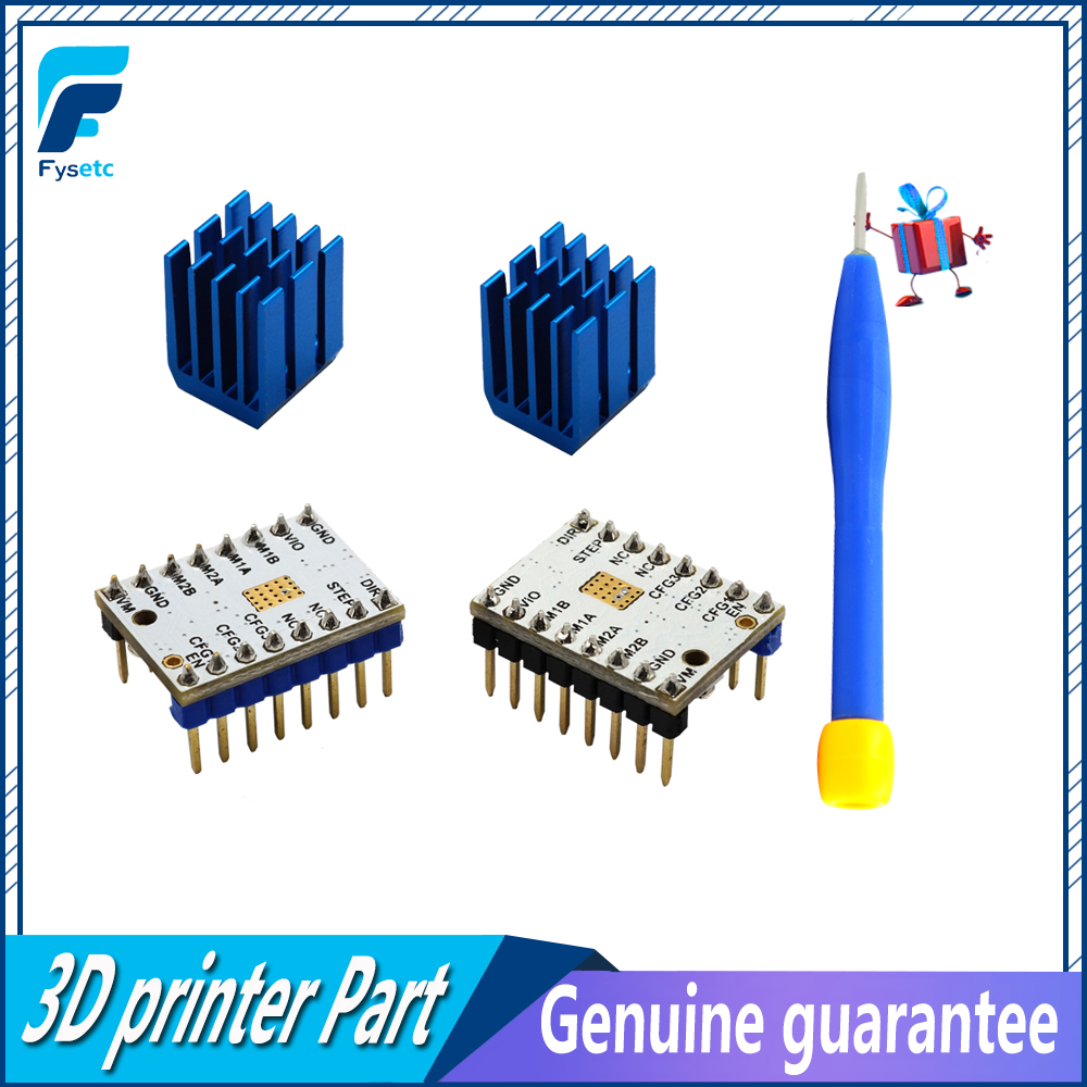 3d printer parts 2pcs lot mks tmc2100 v1 3 stepper motor driver stepstick compatible with lerdge motherboard 32 bit controller [ 1000 x 1000 Pixel ]