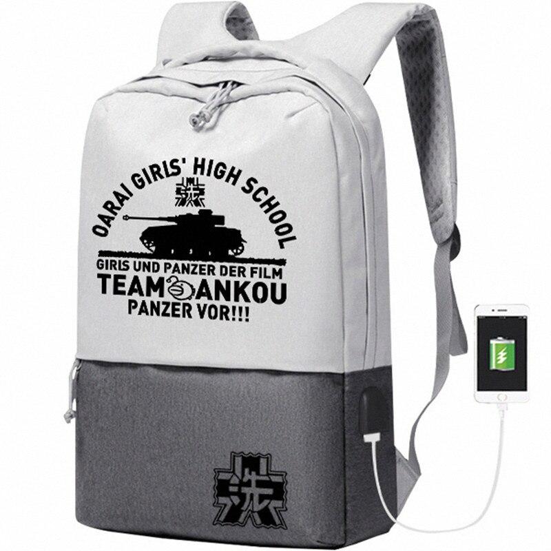 Девочки и танки Для женщин рюкзак аниме рюкзак для путешествий нейлоновый школьный рюкзак, сумка для книг зарядка через usb рюкзак для ноутбука, студенческий мешок Rugzak|Рюкзаки|   | АлиЭкспресс