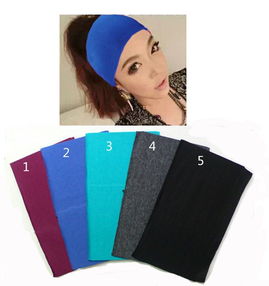 Headwear African Culture Sweatband Elastic Turban Sport Headband Outdoor Head Wrap