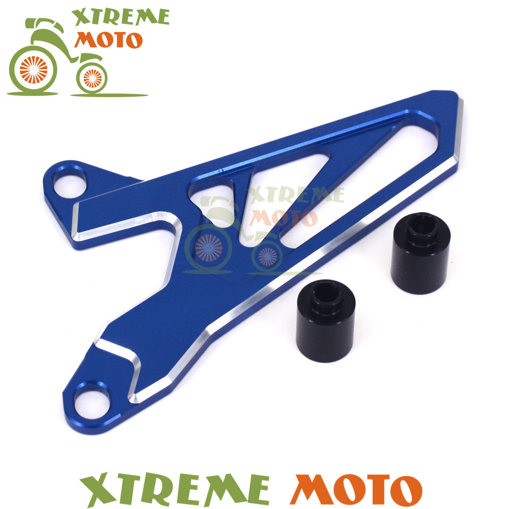 Motorcycle Front Sprocket Chain Cover Guide Guard Protector For Yamaha YZ250 YZ250F YZ450F YZ250X WR250F WR450F mgoodoo cnc aluminum motorcycle left engine guard chain protector front sprocket cover panel for yamaha r3 r25 2014 2015 2016