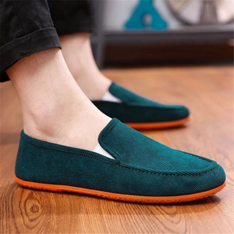 Casual-Shoes Light-Weight Spring Comfortable Slip-On Hot-Sale Summer Loafers Men
