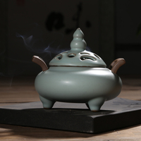 F (assembles) life of monkey Creative ceramic aroma stove Imitation of the song dynasty restoring ancient ways your kiln