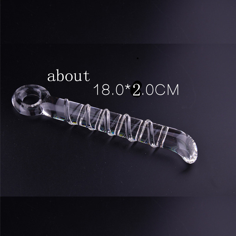 Transparent Glass Anal Plug <font><b>sex</b></font> <font><b>toys</b></font> foy woman men adult games Sword Style Butt Dildo <font><b>sex</b></font> products anal plug Anal <font><b>sex</b></font> <font><b>toys</b></font> HOT image
