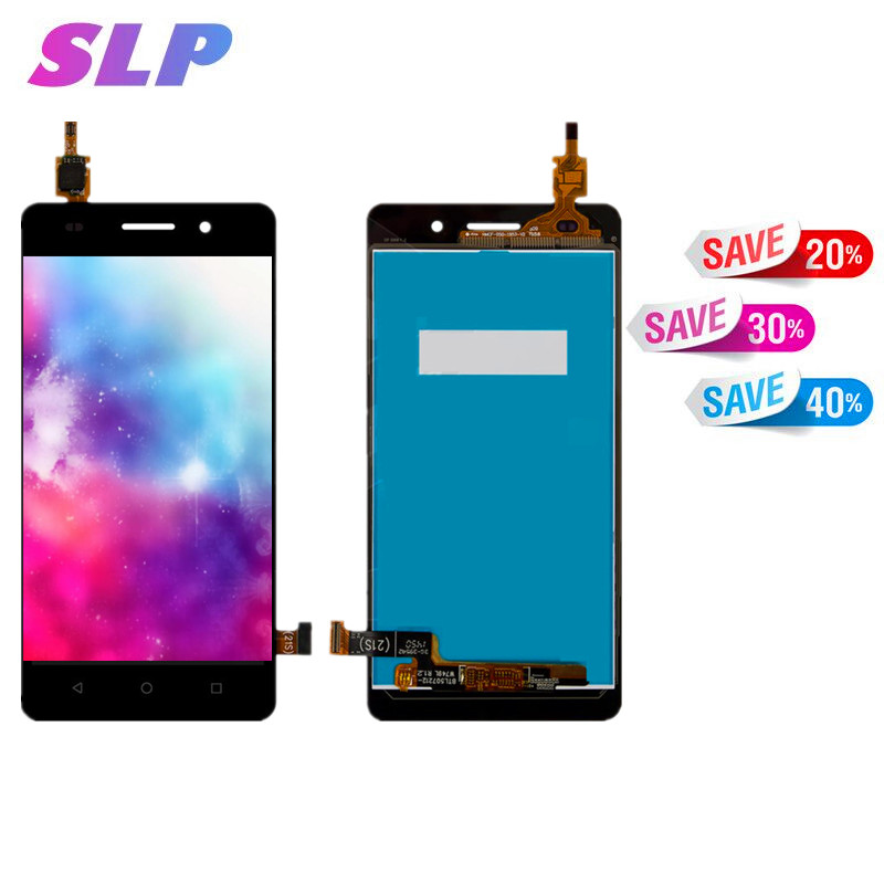 Skylarpu 5.5 inch Black Complete LCD for Huawei Honor 4C Cell Phone Full LCD display with Touch screen Free Shipping