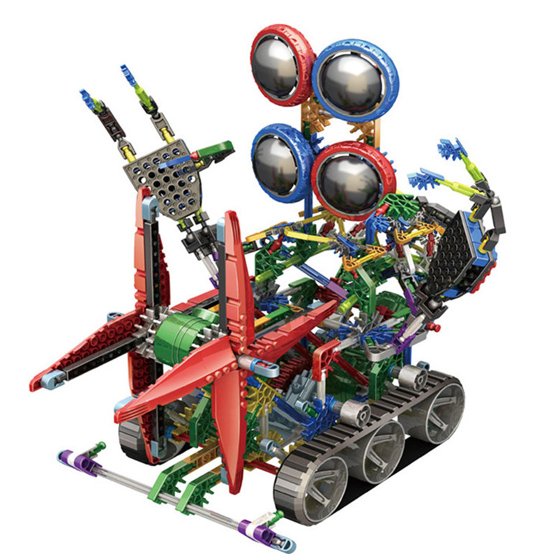 Gear Building Toys For Boys : Aliexpress buy super large electric robot assemblage