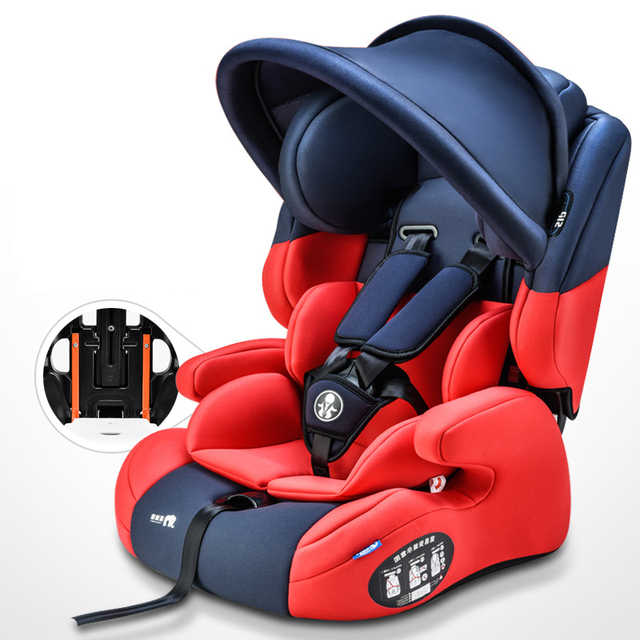 Car Child Child Safety Seat Car 9 Months Old -3-12 Years Old Universal Convenient Steel Skeleton