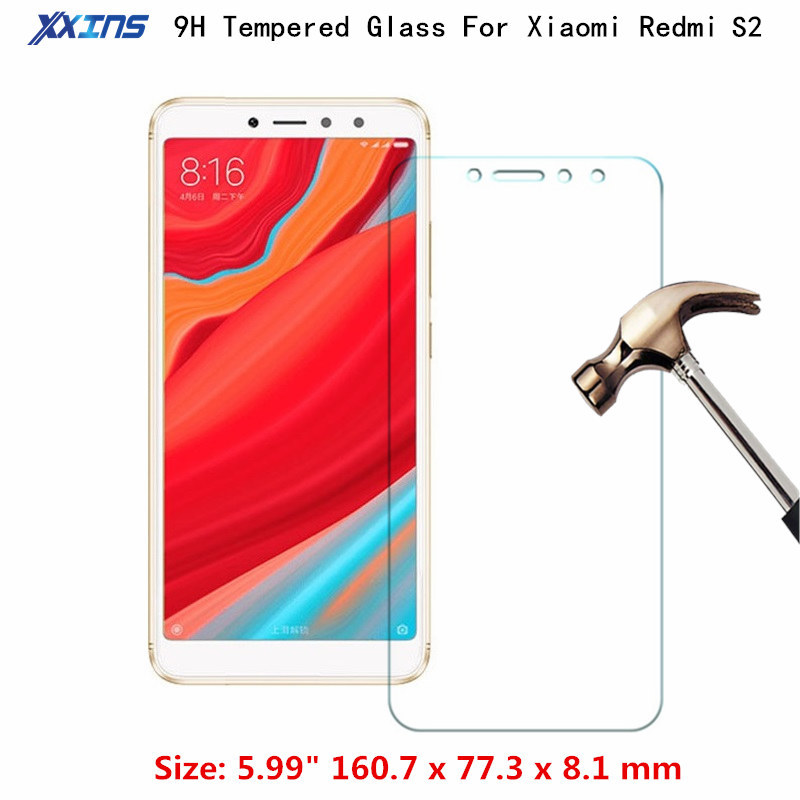 Tempered GLASS For Xiaomi Redmi s2 S 2 Screen Protector Cover For Mobile phone on rich s 2 2018 discount price in Phone Screen Protectors from Cellphones Telecommunications