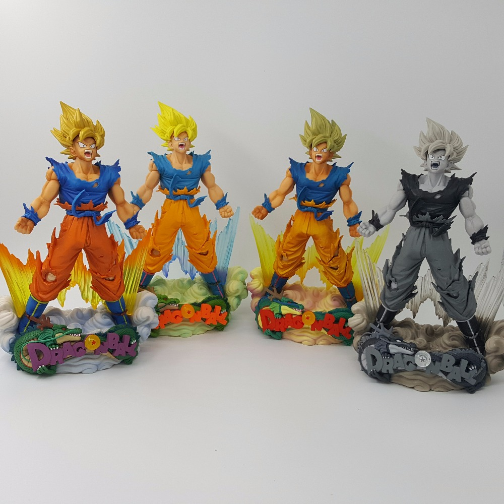 Anime Dragon Ball Z Figure Jouets Rose Goku Figma Action Figurine Statues 14cm