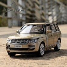 1:32 Land rove ряд rove сплава модели автомобиля обратно к власти звук и свет открыть дверь детский автомобиль игрушки