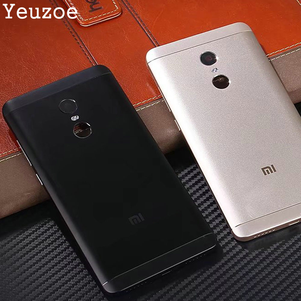Fashion For Xiaomi Redmi Note 4X Case Cover Luxury Hard PC 360 Full Protection Case For