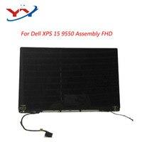 Para Dell XPS 9550 precisión 5510 montaje de pantalla LCD FHD CÁMARA DE PLATA 1920*1080 (NO)|Pantalla LCD de portátil| |  -
