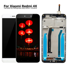 купить 100% New MI Hongmi 4X LCD Display +Digitizer Touch Screen Assembly Replacement For Xiaomi Redmi 4X Phone Parts And Free Tools дешево