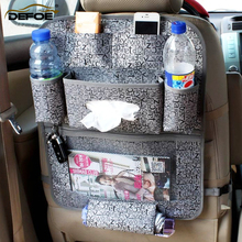 car cushion storage seat bag organizer Hanging cover Child safety anti-play mat