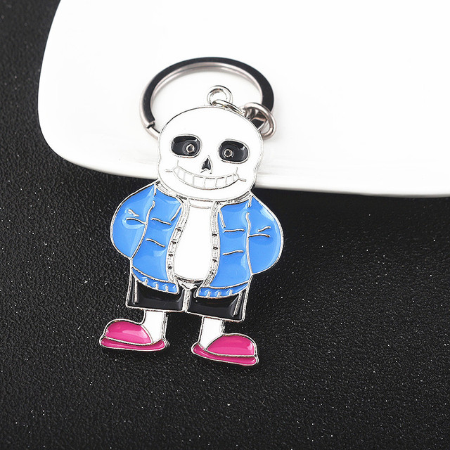 Aliexpress com : Buy Undertale Sans Papyrus keychain Key car chain pendant  enamel jewelry metal Accessories Keyring from Reliable Key Chains suppliers