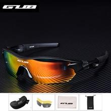 2019 GUB 5300 Cycling PC Polarizer Glasses MTB Road Bike Bicycle Eyeglasses Outdoor Sports