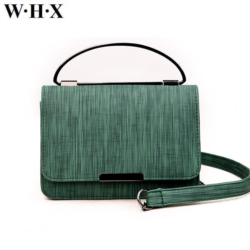 WHX Brand Designer Women's Handbag Women Messenger Bags Fashion Ladies Lether Shoulder Crossbody Bag bolsa feminina Top-handle