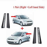 Left / Right Car Outer Front Door Window Moulding Trim For Ford For Fiesta MK6 2001 2008 3 Door Model Only