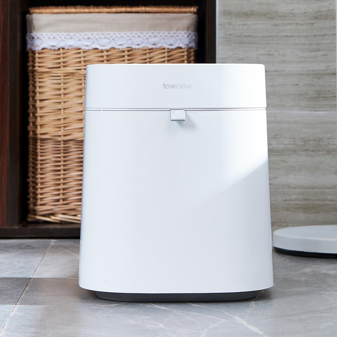 Xiaomi Townew 284x284x342mm T Air poubelle intelligente peut déchets poubelles automatique étanchéité muet Mintpass poubelle - 3