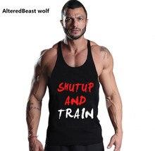 Men tank top bodybuilding gyms clothing Fitness golds gyms tank top men Sleeveless shirt tops for boys o-neck fitness tank top