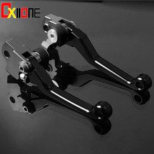 цена на Hight quality One Pair CNC Motorcycle CNC Pivot Brake Clutch Levers For Para Beta RR 250 300 2T RR 250 300 2013-2017 2014 2015