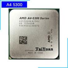 Amd A4-Series A4-5300 a4 5300 k 5300 k 3.4 ghz processador central ad530boka23hj/ad5300oka23hj soquete fm2