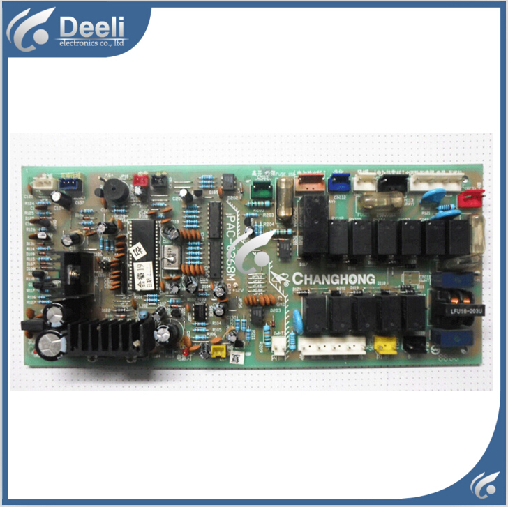 Подробнее о 95% new good working for air conditioning Computer board PAC-0368M pc board circuit board on sale 95% new good working for air conditioning computer board ju7 820 1730 pow 20fh pc board circuit board on sale